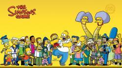 The Simpsons Game Cartoon