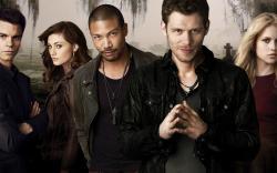 The Vampire Diaries Klaus Joseph Morgan Hayley Phoebe Tonkin Marcel Charles Michael Davis Rebekah Claire Holt