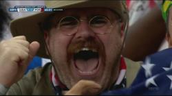 Yes, former president Theodore Roosevelt has gone south to cheer on his country's players, as he did during the Spanish-American War, when he formed a ...