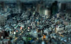 Tilt Shift Cityscape Res: 2560x1600 / Size:1791kb. Views: 7783
