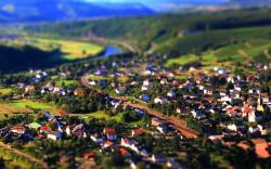 Tilt Shift Town Res: 2560x1600 / Size:480kb. Views: 5105