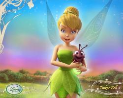 Wallpaper - Tinker Bell - Summer