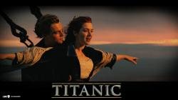 man and woman titanic movie scene