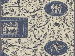 HD Wallpapers Williamsburg vintage toile wallpaper