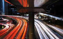 Tokyo traffic stream