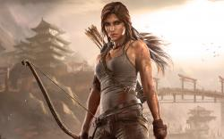 Working on Tomb Raider!