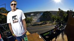 Tony Hawk and friends ride the halfpipe overlooking Iguacu Falls - X Games