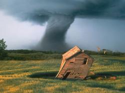 Inside a Tornado ! - Live Footage