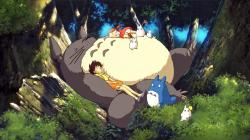 So let's move on to something a little more lighthearted and more expressive about the joys of childhood, instead. Yes, it's My Neighbor Totoro (Tonari no ...
