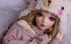 Toy Doll Up Close Wallpaper