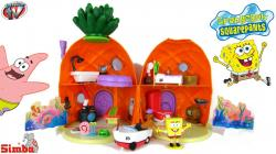 Spongebob Squarepants Pineapple House Playset with Gary Snail Spongebob Toys