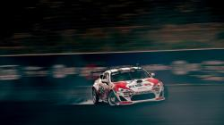 Toyota Car Drift Smoke