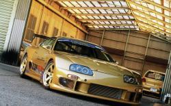 Toyota Supra Gold