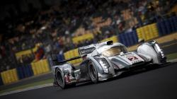 Audi Race Car Racing Track HD Wallpaper