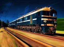 high dynamic range train wallpaper