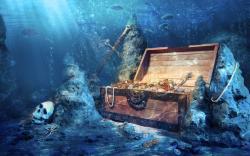 Treasure Underwater