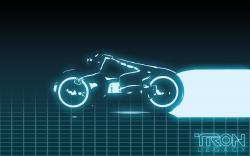 Tron Legacy Motorcycle Movie Black Hd Wallpaper