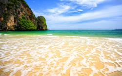 Tropical beach paradise thailand