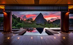 Tropics sunset