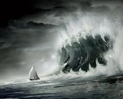 Tsunami Wallpaper