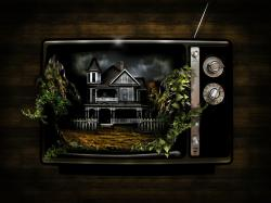 3d Abstract Tv Wallpaper