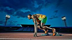 Usain Bolt Jamaican Sprinter Athlete Sport