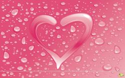 valentine wallpaper pink heart Wallpaper
