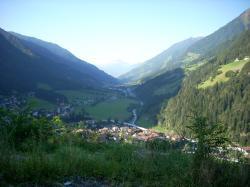mountains, landscapes, nature, forest, Austria, valley, village