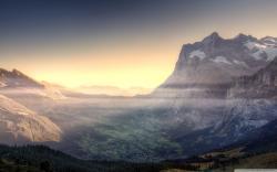 Mountain Valley Wallpaper 29900 1920x1200 px