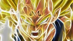 Vegeta Electric Face