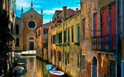 Venice Water Alleyways Wallpapers Pictures Photos Images · «