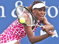 Venus Williams Out of Cincinnati Open First Round