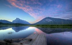 Vermillion Lake At Sunrise | 1920 x 1200 | Download | Close