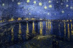 Starry Night Over the Rhone, 1888, oil on canvas