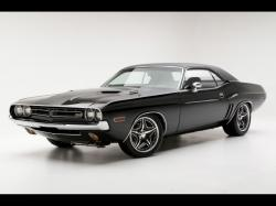 Old dodge challenger wallpaper