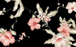 ... Vintage Flowers Wallpaper ...