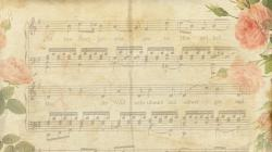 Notes Old Free Vintage Music Paper Antique Desktop Wallpaper