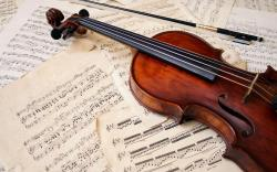 violin music wide hd wallpaper