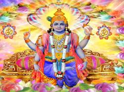 Hindu God Lord Vishnu HD Wallpapers