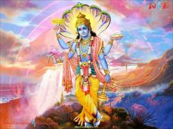 www.allgodwallpapers.com > Wallpapers > Vishnu God Picture