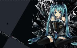 Konachan.com - 47280 hatsune_miku vocaloid ...