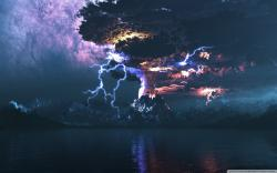 Other factors that seem to influence volcanic lightning include the height of the ash cloud and the air temperature. During the 2009 eruption of Mt. Redoubt ...