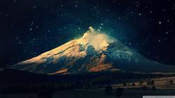 Volcano Smoke Wallpaper 1080p HD