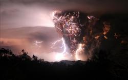 Amazing Volcano Wallpaper ...