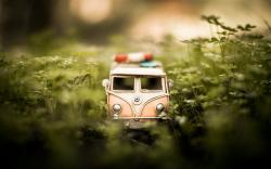 Volkswagen Bus Car Toy
