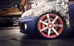 Volkswagen Golf GTI Wheel Tuning