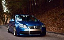 Volkswagen Golf R32 Car Tuning Road
