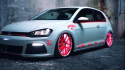 VW Golf 7 2013 Light-Tron Tuning-Showcar