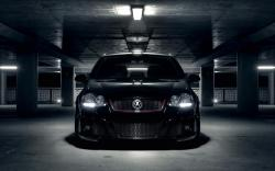 Volkswagen VW Golf Tuning Parking Car