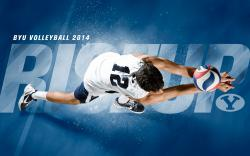 2014 - Jaylen Reyes - BYU Volleyball Wallpaper 2014